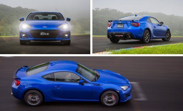 First drive 2017 subaru brz review car and driver big changes small gains sciox Gallery