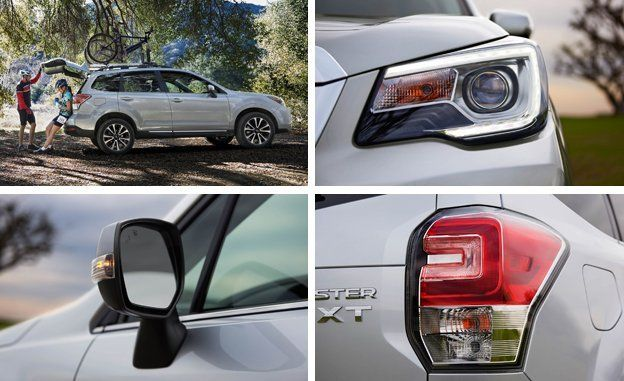 2017 Subaru Forester Gets Minor Updates News Car And Driver
