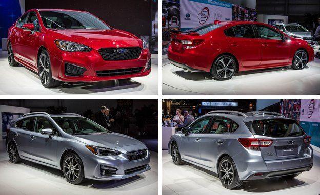 2017 Subaru Impreza Sedan Hatchback Photos And Info News Car Driver