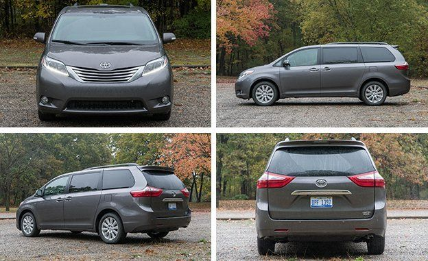2017 toyota sienna awd test – review – car and driver