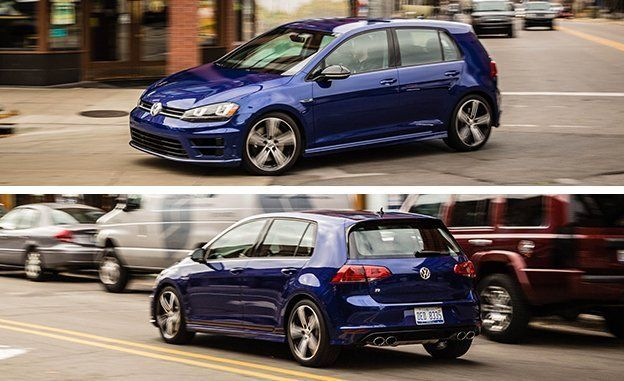 2017 volkswagen golf r review car and driver publicscrutiny Choice Image