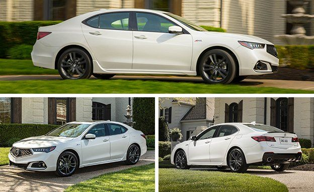 Acura TLX First Drive Review Car And Driver - Tires for 2018 acura tl