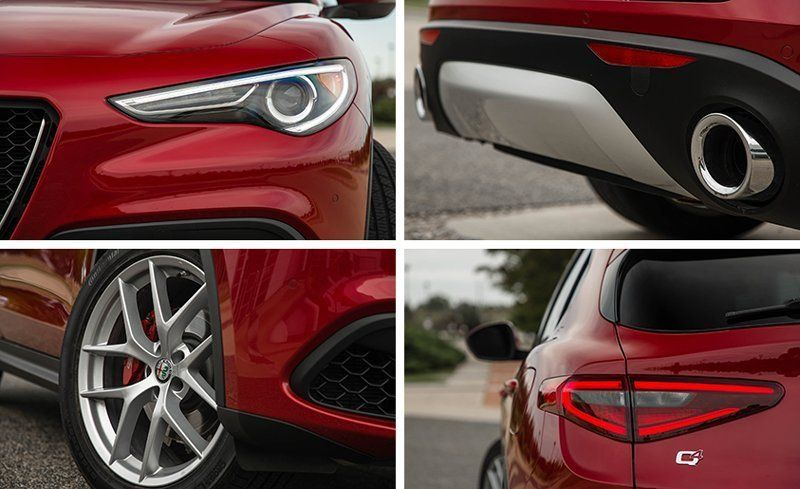 2019 Alfa Romeo Stelvio Reviews Alfa Romeo Stelvio Price Photos