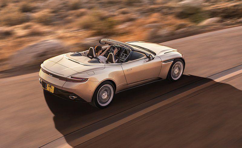 Aston Martin DB Volante Photos And Info News Car And Driver - Hardtop convertible aston martin