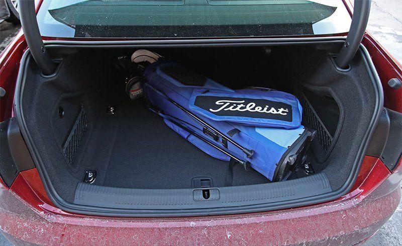 Audi a4 trunk size