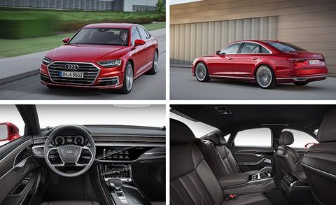 2019 Audi A8 Official Photos And Info News Car And Driver
