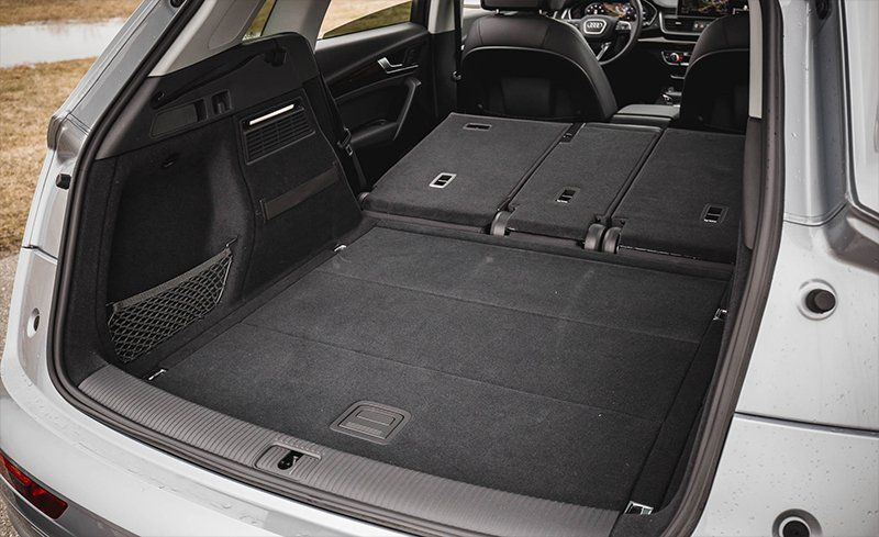 2014 Audi Q5 Cargo Room Comparison | News | Cars.com