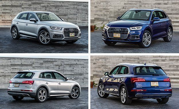 2018 Audi Q5 First Drive Review Car And Driver Vs 2017