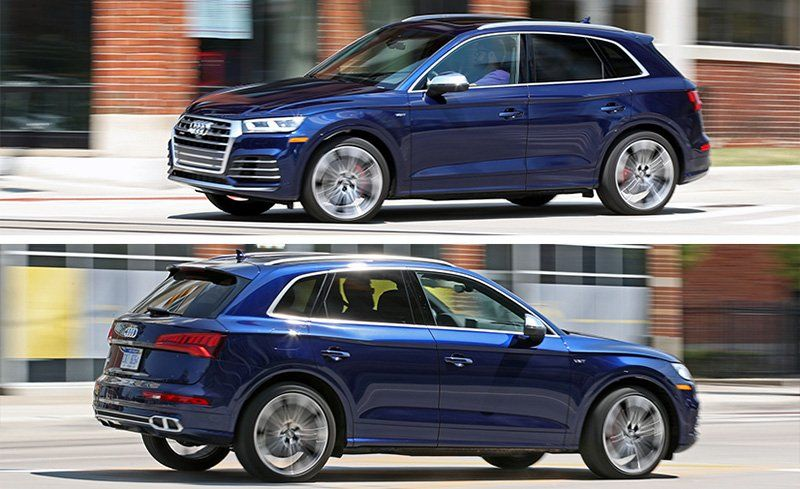 Audi SQ Test Review Car And Driver - Audi sq5