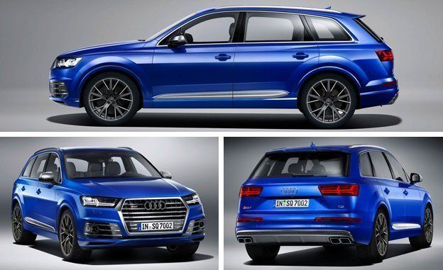 Audi SQ TDI Diesel Photos And Info News Car And Driver - Audi q10 for sale