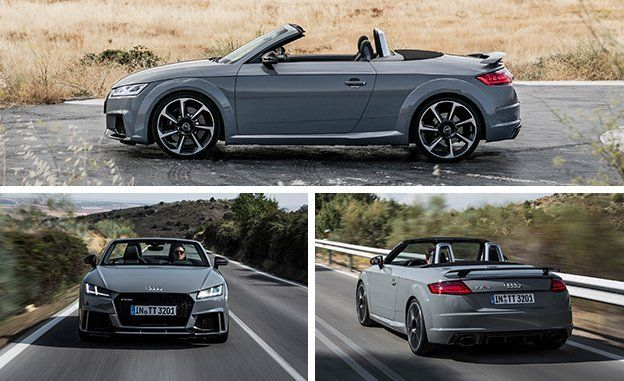 first drive 2018 audi tt rs roadster review car and driver rh caranddriver com TT RS Roadster Audi TT RS Specifications