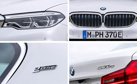 2018 bmw 530e plug-in hybrid first drive   review   car and driver