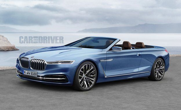 BMW Series Spy Photos News Car And Driver - 2015 bmw 8 series price
