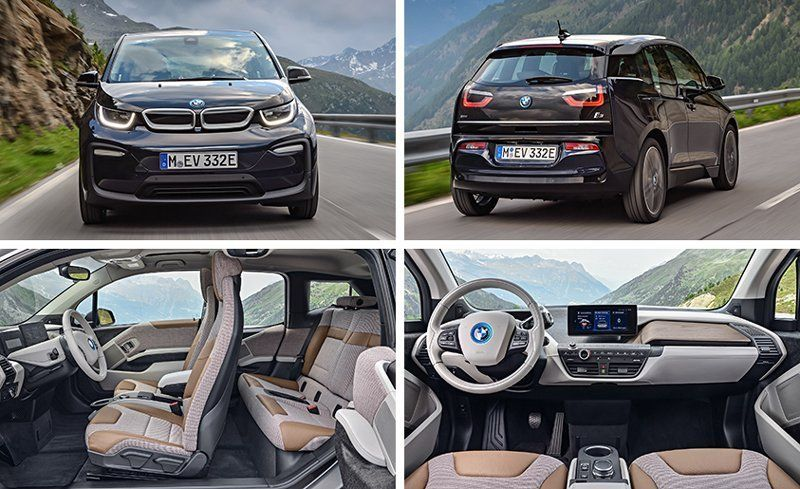 2018 Bmw I3 And I3s Photos And Info News Car And Driver