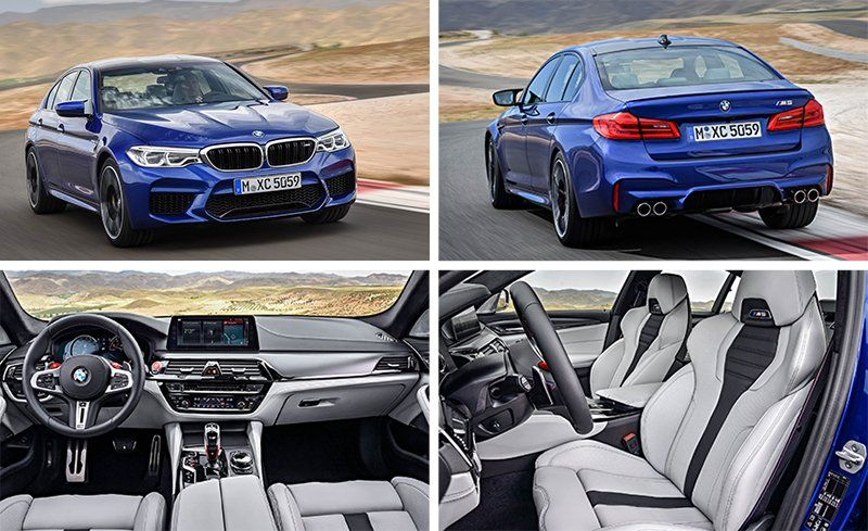 2018 BMW M5 Photos And Information
