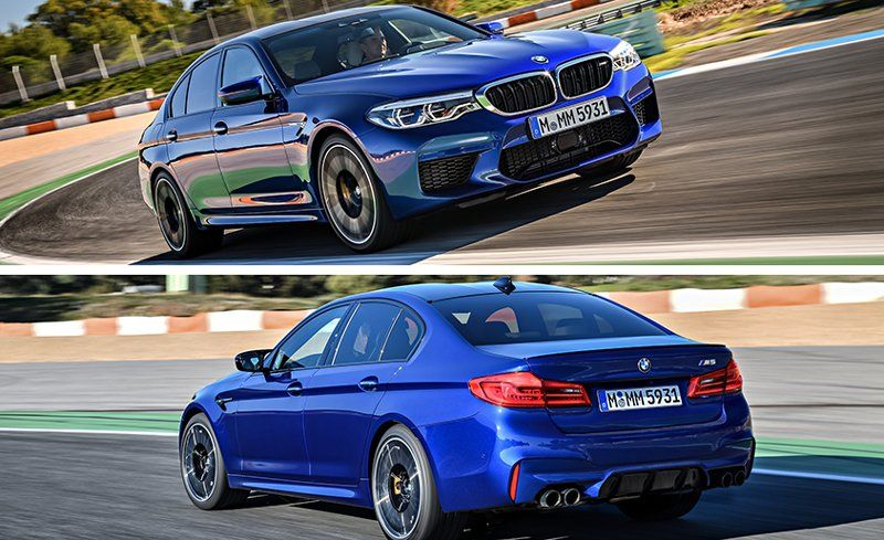 2018 Bmw M5 >> 2018 Bmw M5 First Drive Review Car And Driver