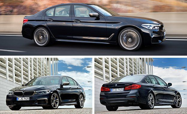 2018 BMW M550i XDrive First Drive