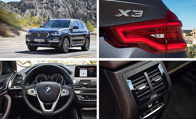 2018 BMW X3 Official Photos And Info
