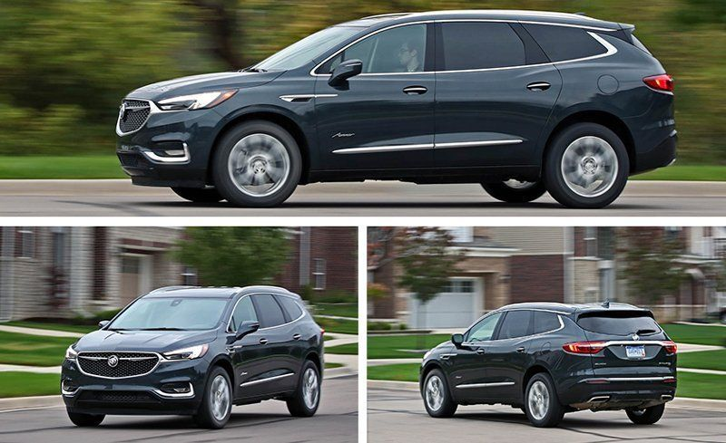 2018 Buick Enclave Test Review Car And Driver