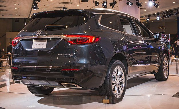 2018 Buick Enclave Photos And Info News Car And Driver