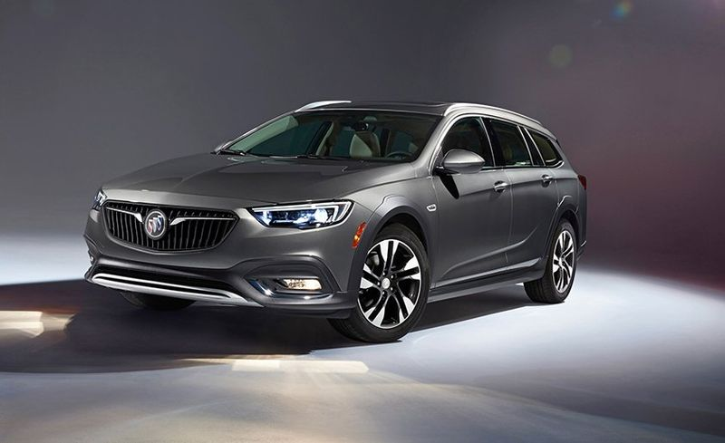 2018 Buick Regal Tourx Dissected Feature Car And Driver