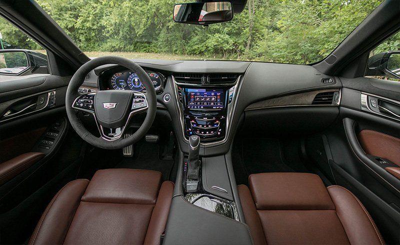 2018 Cadillac Cts Interior Review Car And Driver