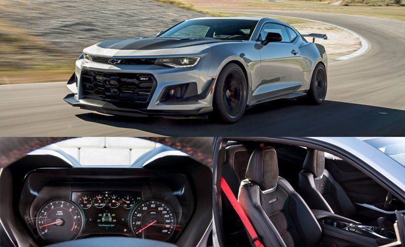 Unlike The Gen Five Z 28 This 1le Has All Features Of Zl1 Including Heated And Ventilated Front Seats A Steering Wheel An 8 0 Inch