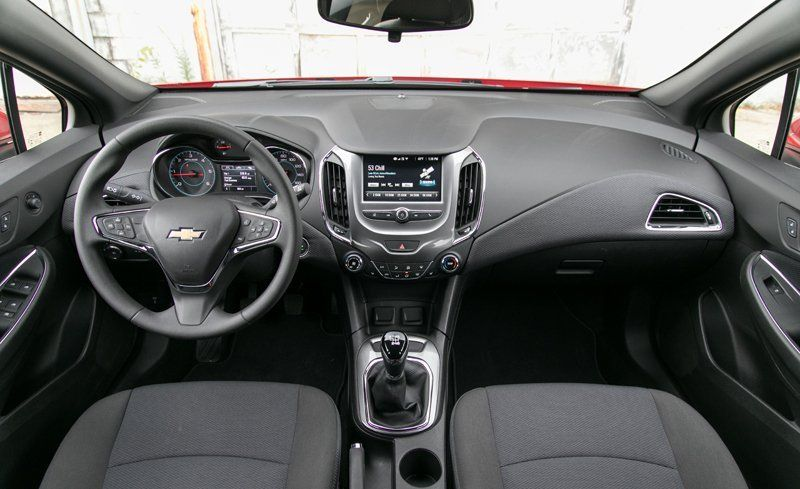 2018 chevrolet cruze interior review car and driver publicscrutiny Gallery