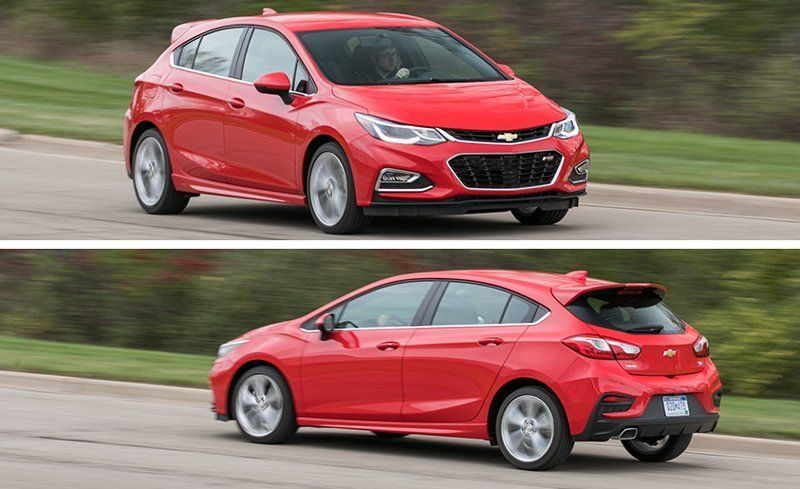 2018 Chevrolet Cruze Sel Hatchback Manual Test Review Car And