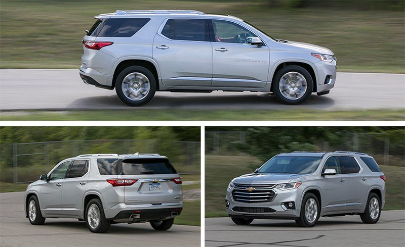 2018 Chevrolet Traverse Test Review Car And Driver