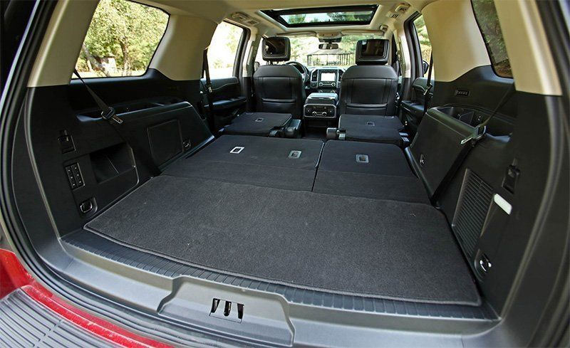 Ford Expedition Expedition Max Cargo Space And Storage Review Car And Driver