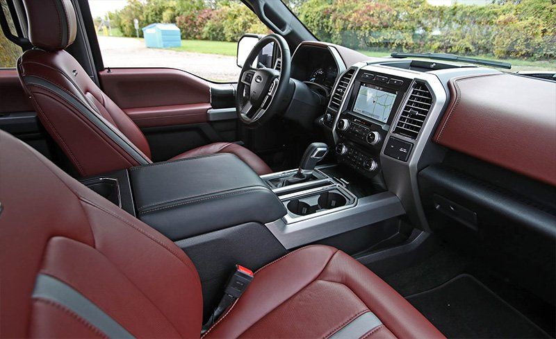 2018 Ford F 150 Interior Review Car And Driver