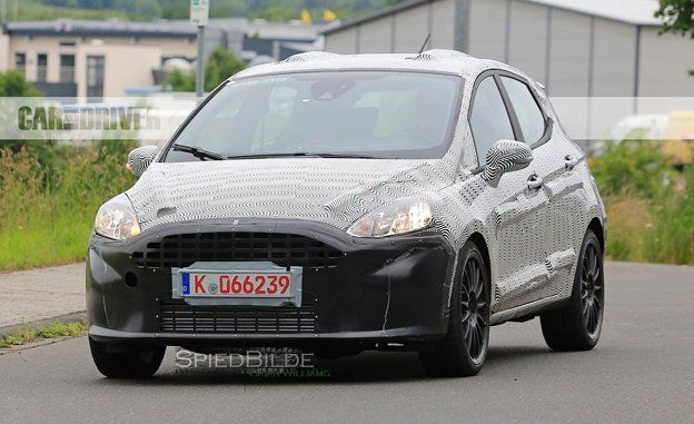 2018 Ford Fiesta ST Spy Photos  News  Car and Driver