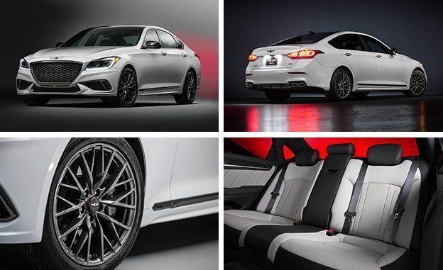 Worksheet. 2018 Genesis G80 Now with a TwinTurbo Sport Trim and Mild Facial
