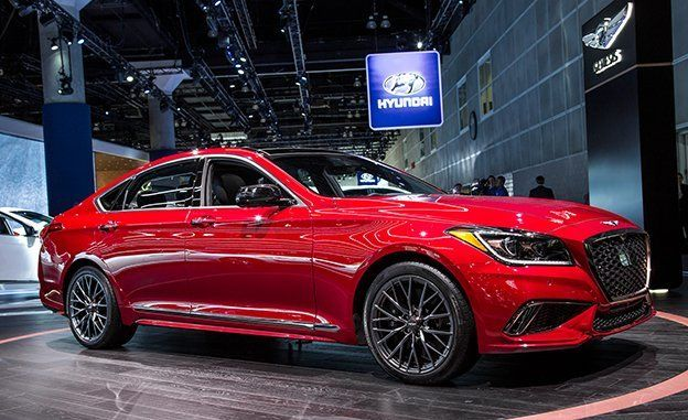 2018 Genesis G80 Now with a TwinTurbo Sport Trim and Mild Facial