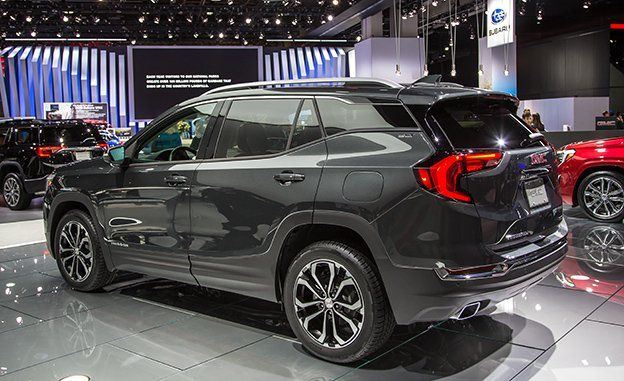 2018 Gmc Terrain Photos And Info News Car And Driver
