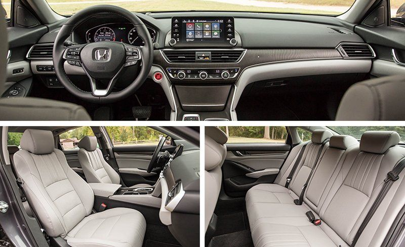 2018 Honda Accord 2 0t Automatic Test Review Car And Driver