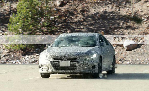 2018 Honda Accord Sedan Spied  News  Car and Driver