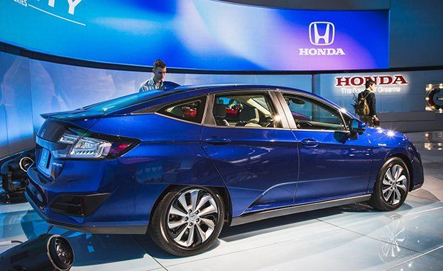 2018 Honda Clarity Electric And Plug In Hybrid Photos And Info