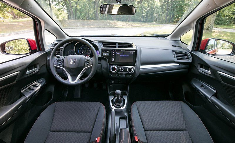 2018 Honda Fit Interior Review Car And Driver