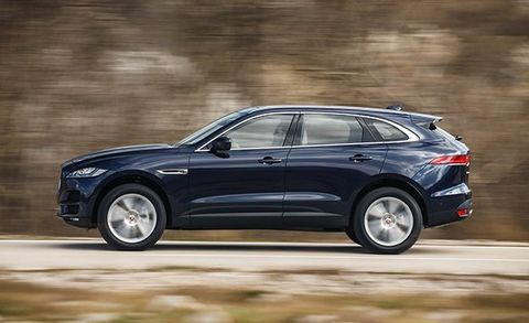 Like The F Pace S Sel And Gasoline V 6 Engines Ingenium Four Is Mated To An Eight Sd Automatic With All Wheel Drive As Standard