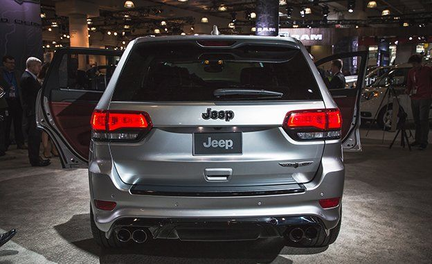 2018 Jeep Grand Cherokee Trackhawk Official Photos And Info News
