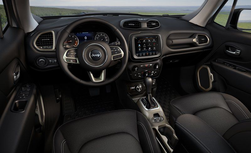 Jeep Renegade Interior U003eu003e 2018 Jeep Renegade Interior Review Car And Driver