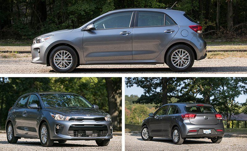 2019 Kia Rio Reviews Kia Rio Price Photos And Specs Car And Driver