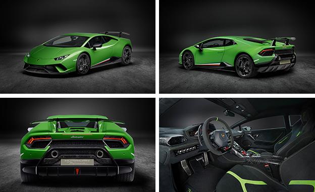 2018 Lamborghini Huracan Performante A Four Wheel Drive Aerodynamic