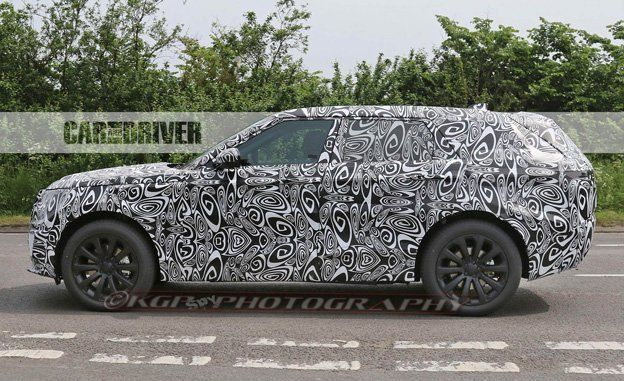 2018 Land Rover Range Sport Coupe Spied