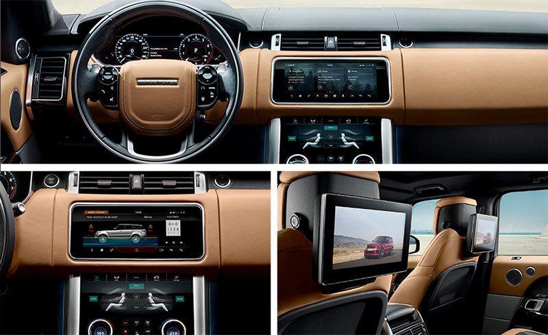 Range Rover Sport 2018 Interior >> 2018 Range Rover Sport Photos And Info News Car And Driver