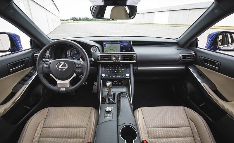 2018 Lexus Is Interior Review Car And Driver