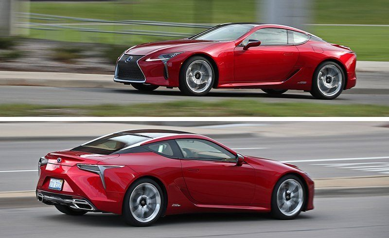 2018 Lexus Lc500h Hybrid Test Review Car And Driver