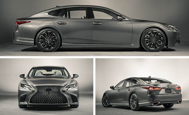 2017 Lexus - LS Luxury Sedan - Luxury Sedan